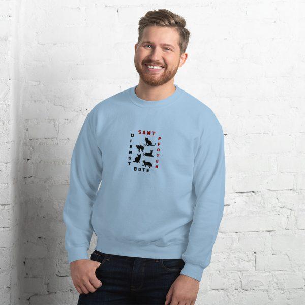 """Sweatshirt """"Samtpfoten Dienstbote"""" für Männer"""