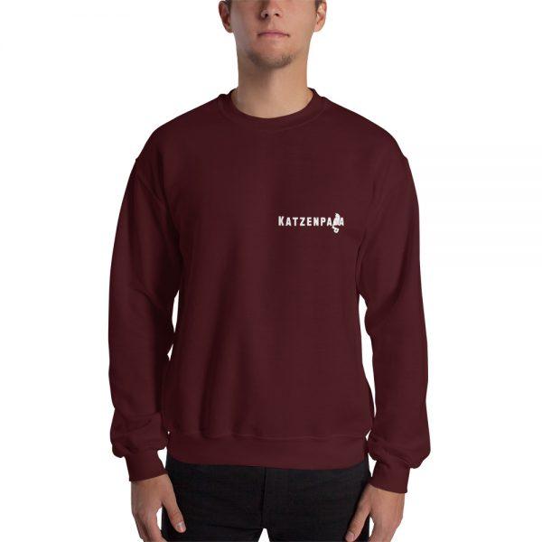 Sweatshirt Katzenpapa für den Katzenfan