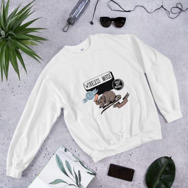 "Männer Sweatshirt ""Wireless Mouse"""