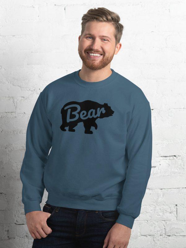 Sweatshirt Bear für echte Männer