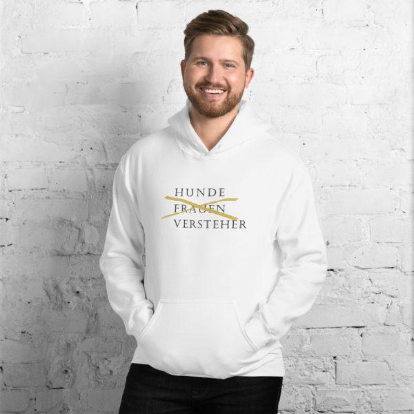 Herren Sweatshirt 'Hunde Frauen Versteher' erhältlich auch in den Übergrößen: S-5XL